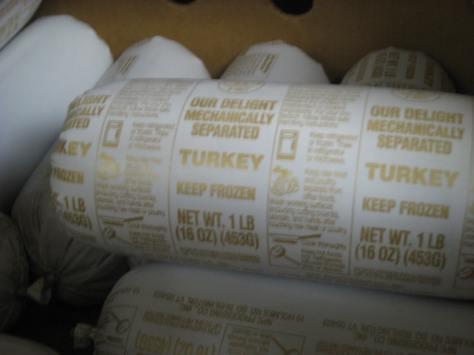 Frozen meat labels