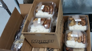 Nourish Now boxes up meals for distribution. These were donated to Maryvale Elementary School.