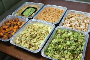 Food donated by Suburban Hospital