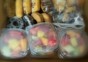 CFR Fruit and pastries