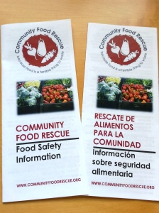 CFR's new Food Safety Information brochure offers concise tips on how to tell when food is safe to eat and on thawing, cooking, and storing food. Available in seven languages.