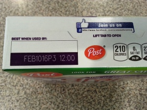 Date labeling refers to manufacturer's quality of product, not food safety.